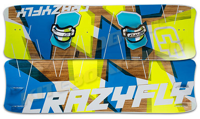 2014 Crazyfly Cruiser LW Kiteboard