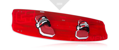 2015 Crazyfly Shox Custom Kiteboard