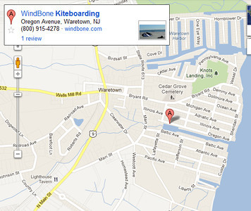 WindBone Google Map