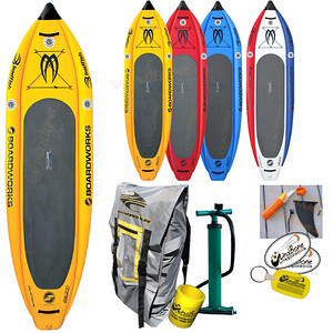 2016 Boardworks Badfish MCIT Board Only Yellow Colors
