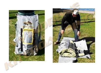 Boardworks Raven Wrap Bag Demo